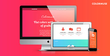 Colormuse - One Page Muse Template