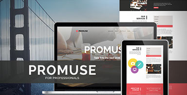 Promuse - One Page Muse Template