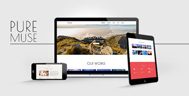 Stellar - Responsive One Page Muse Template